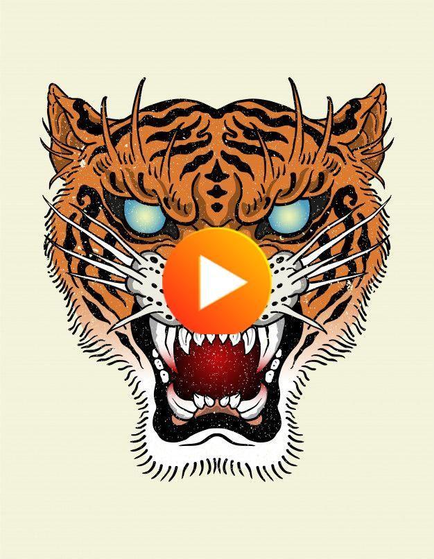 Tiger Tattoo Old School