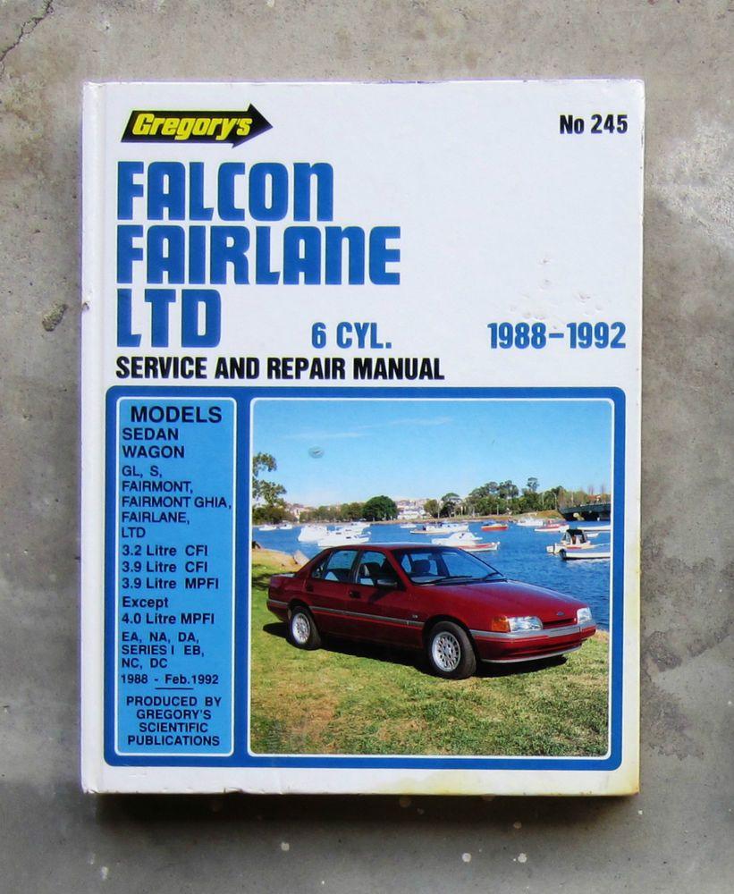 gregorys car service manuals
