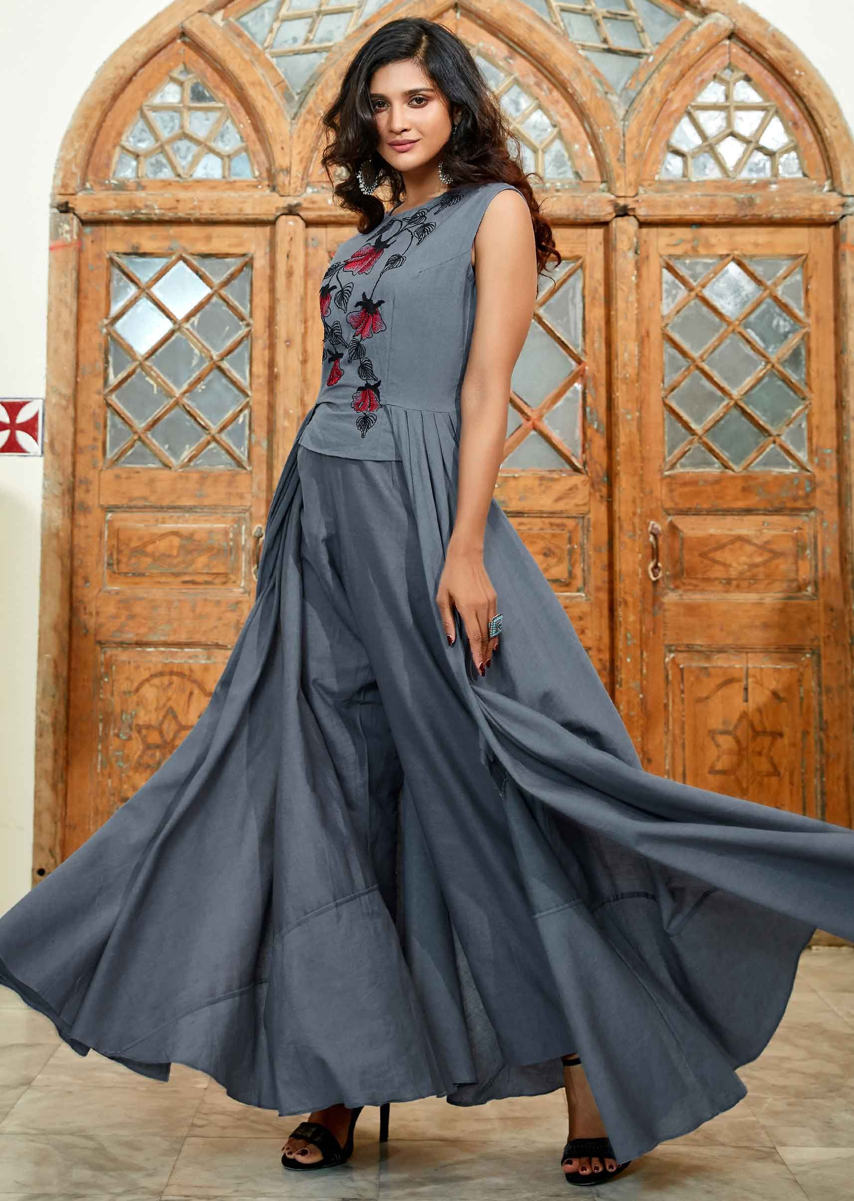 96aa04c879e Drape Gowns  Buy Designer Drape Gowns   Dresses for Women Online - Kalki  Fashion
