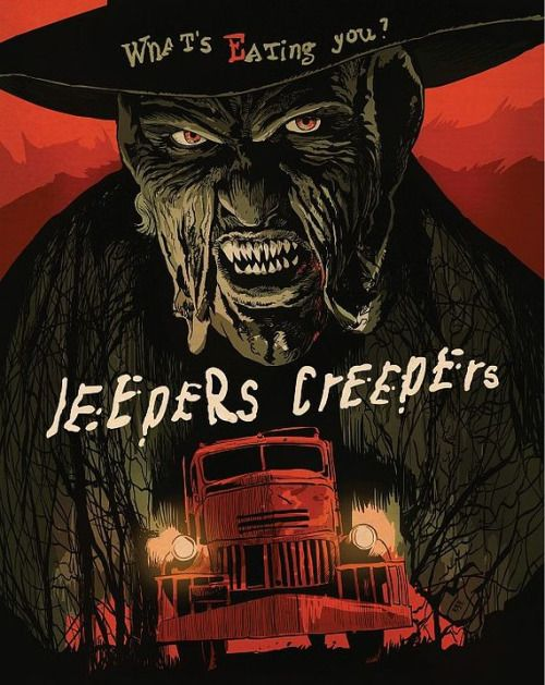 Jeepers Creepers Dvd Blu Ray Cover Art By Francesco Francavilla
