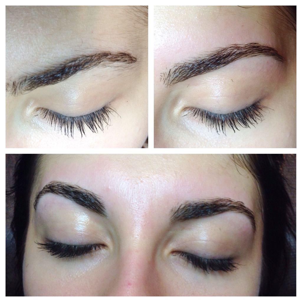 Before & After Eyebrow wax by Cynthia! | Waxed eyebrows ...