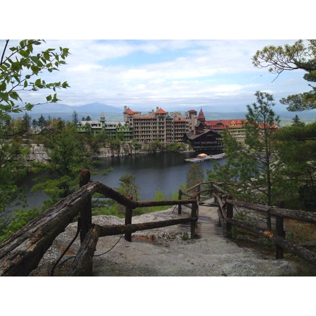 The Mohonk Mountain House, Also Known As Lake Mohonk