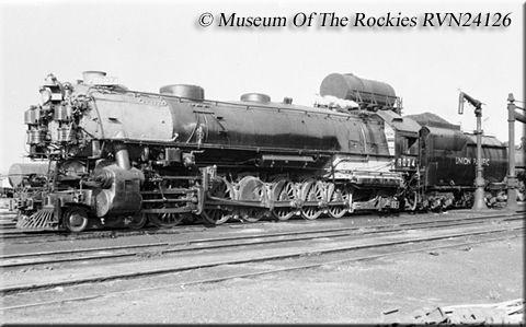 The 4 10 2 Overland Locomotive Railroad Photography Union Pacific Railroad