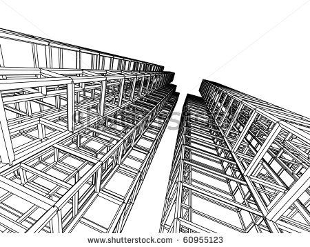 Sketch Of An Abstract Architecture By Ganzaless Via Shutterstock