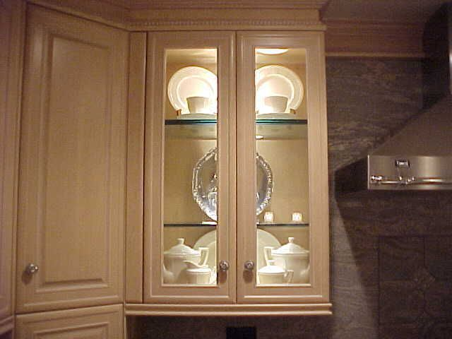 Glass for Kitchen Doors for Sleek Display Small