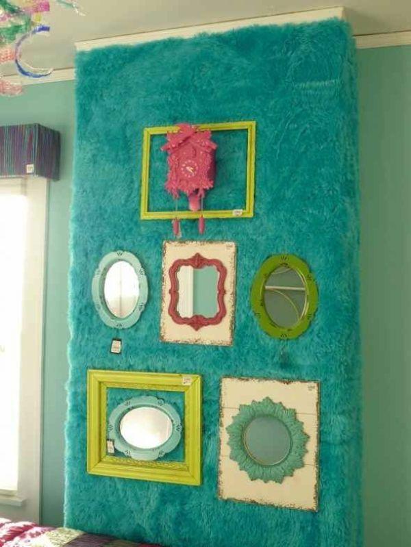 Jugendzimmer Dekoideen Tolle Wanddekoration Mit Spiegeln