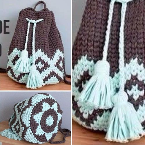 Tapestry Crochet BOHO Backpack - Tutorial (Beautiful Skills ...