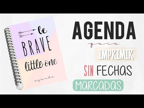 Cómo crear tu propia agenda en Word Julieta Jareda - YouTube - agenda word