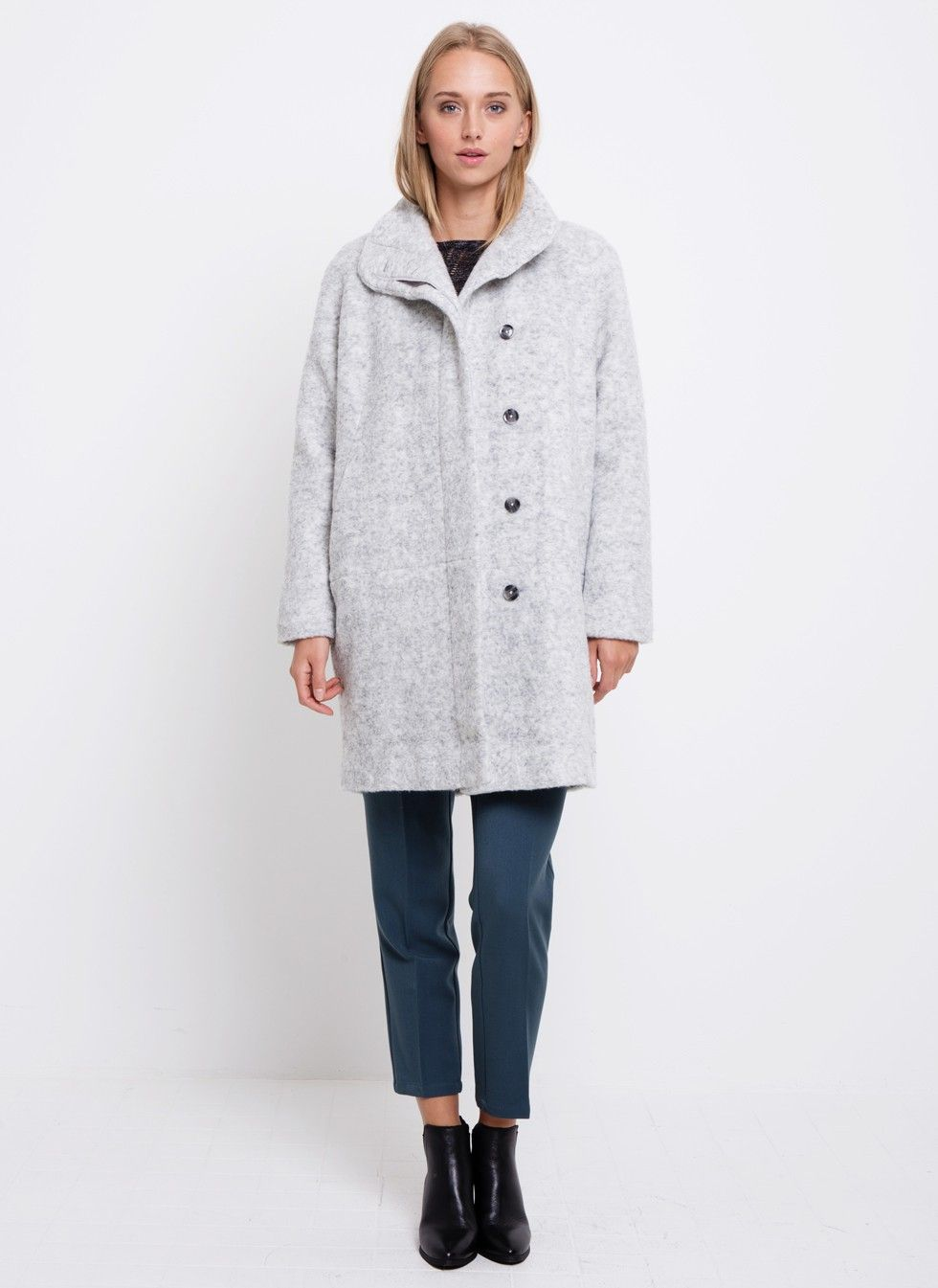 Samsoe & Samsoe Hoff Jacket 7210 Light Grey