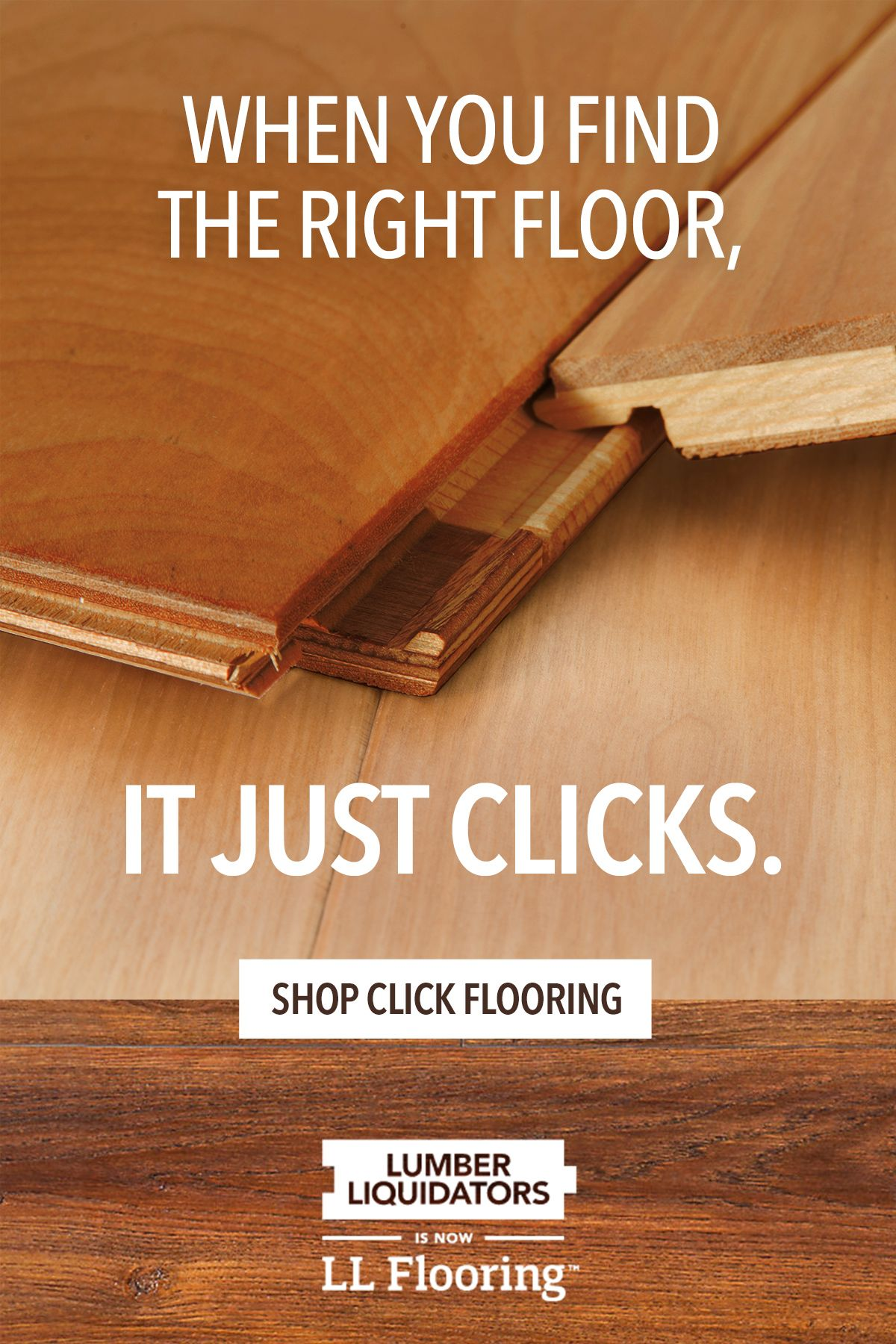 Visit Ll Flooring To Find Floors That Click For You The Biggest Advantage Of Click Flooring Options Is Their Conv In 2020 Click Flooring Lumber Liquidators Flooring