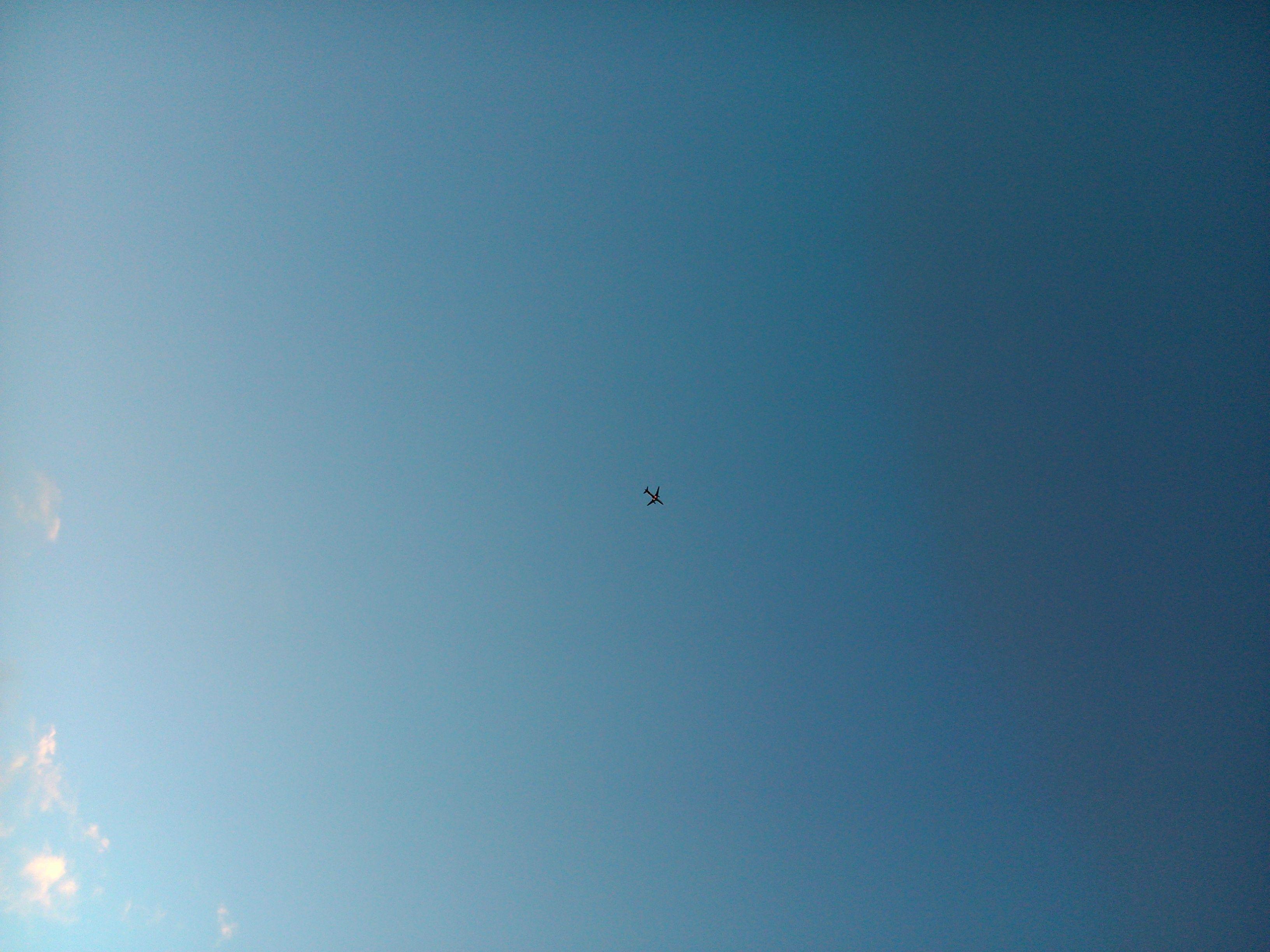 Avião no céu de Salvador!