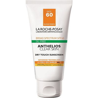 La Roche Posay Anthelios 60 Clear Skin Dry Touch Sunscreen Spf 60 Facial Sunscreen Face Sunscreen Best Face Products