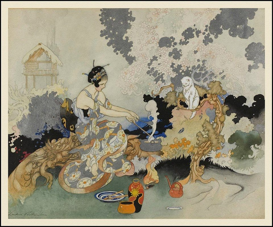 """""""The Spell,"""" Charles Robinson, 1922"""