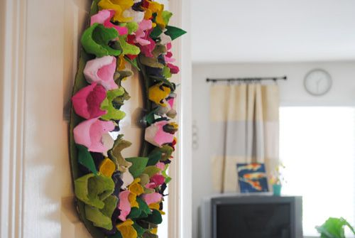 An Egg-citing Wreath for Spring - Brave New Home