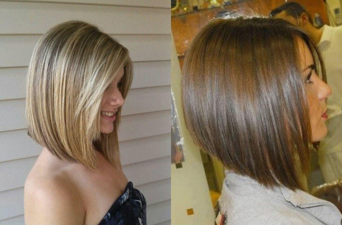 5 Simply The Best Short Haircuts For Thin Hair A Line Bob Hair