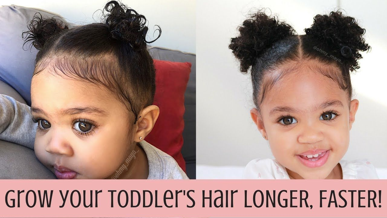 How to Grow your toddler's hair LONGER, faster! Toddler