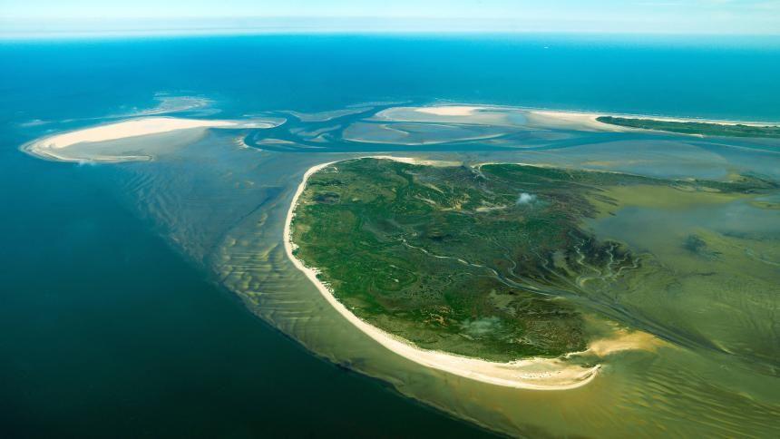 Insel Im Wattenmeer