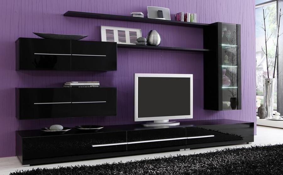 Modular Lcd Rack Panel Tv Moderno Modelo Espacio Mega-cell - $ 4299