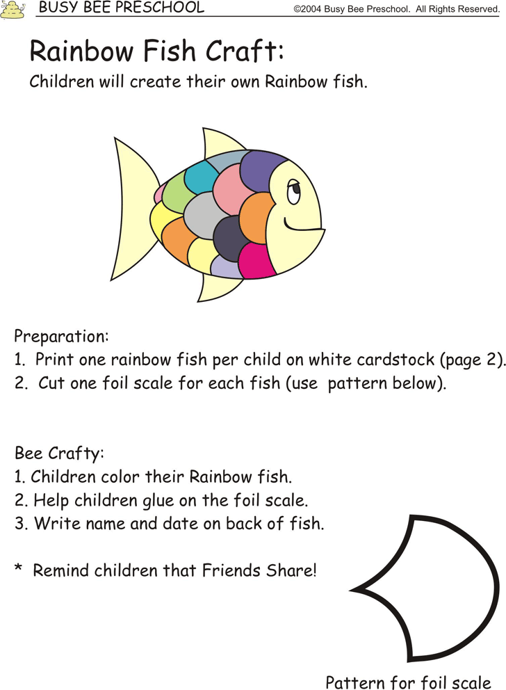 unique rainbow fish scale template inspiration example resume