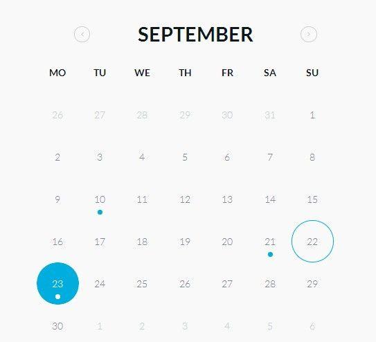 40 Best Free Calendar Templates ( PSD, CSS3, Wallpapers