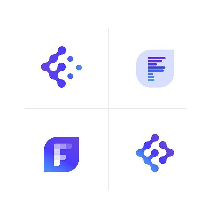 Logo Concepts For A Tech Company Called Fleet Which One Is Your