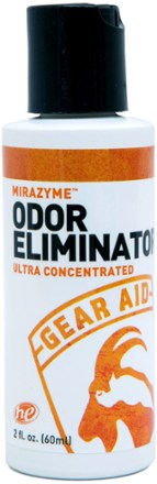 All-natural MiraZyme™ eliminates odor caused by mold mildew and bacteria from clothing & Gear Aid MiraZyme Odor Eliminator 2 Oz   Remove mold