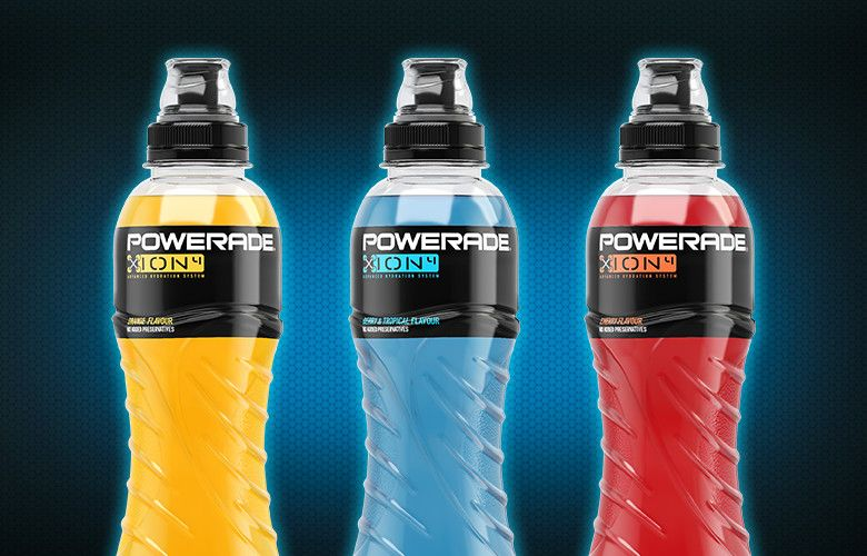 Powerade® Great Britian isotonic Soft drinks, Drinks