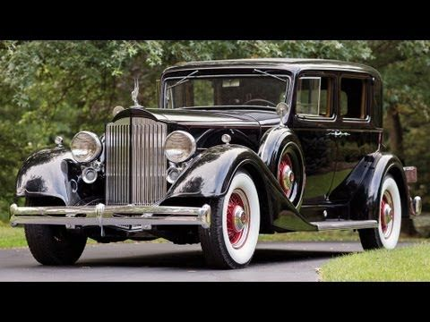 Youtube Classic Cars Antique Cars Packard