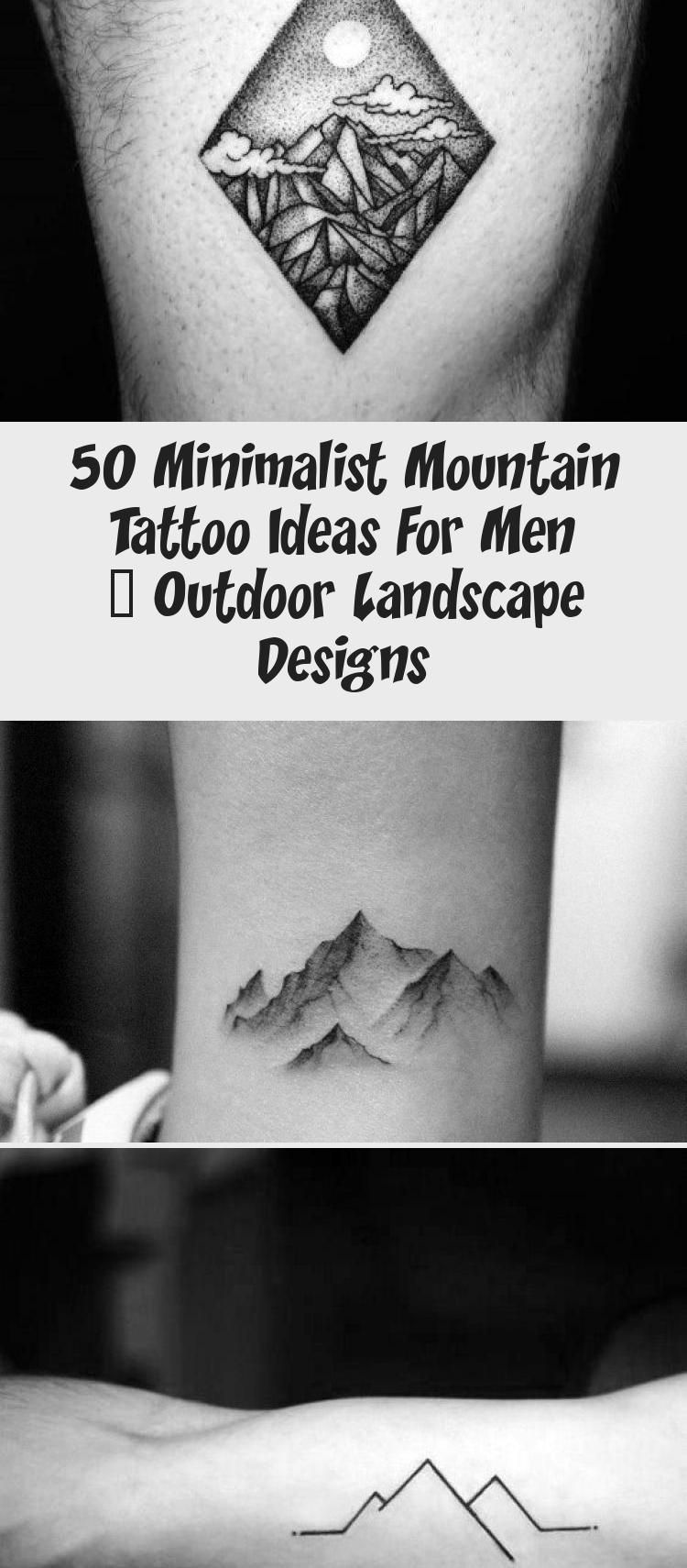 Photo of Amazing Mens Minimalist Mountain Tattoo Designs #minimalisttattooFont #minimalis…