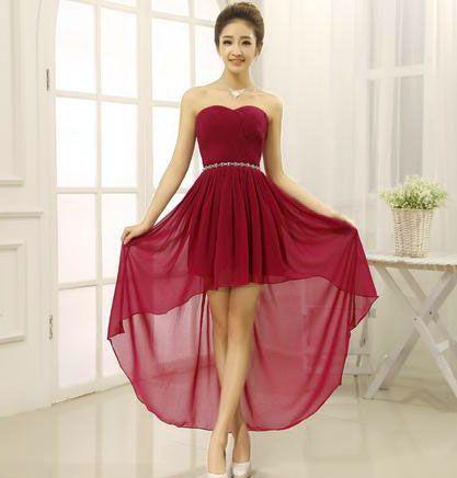Modelos de vestidos de fiesta cortos y largos
