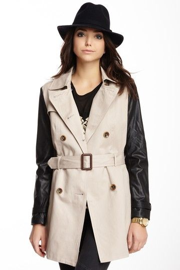 Trench Coat by Romeo & Juliet Couture on @HauteLook
