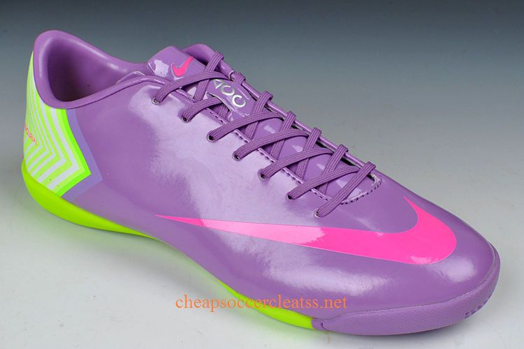 Nike Mercurial Vapor X Ic Indoor Soccer Shoes Cheap Purple -1928
