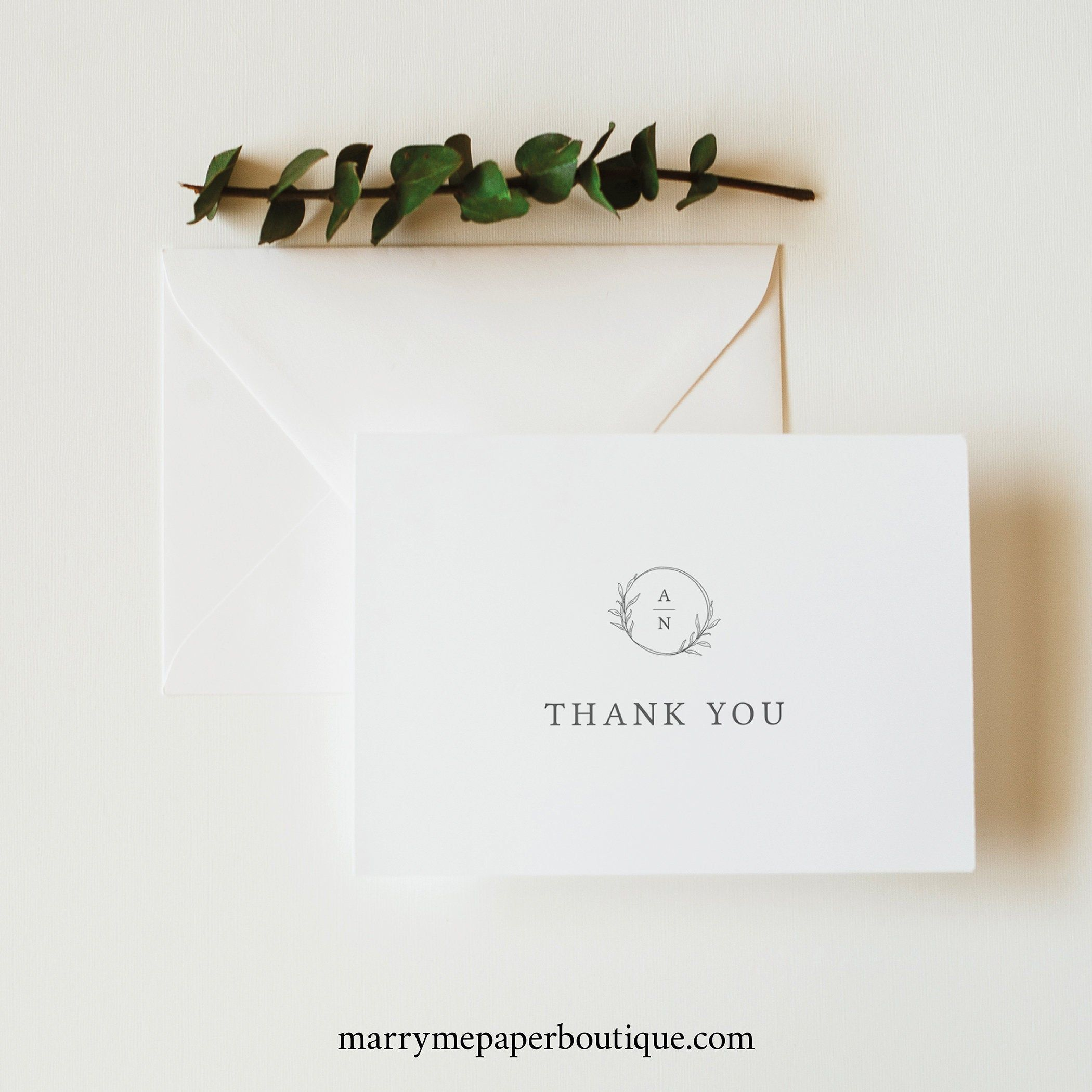 Thank You Card Template Try Before Purchase Folded Thank You Etsy Thank You Card Template Thank You Card Size Thank You Cards