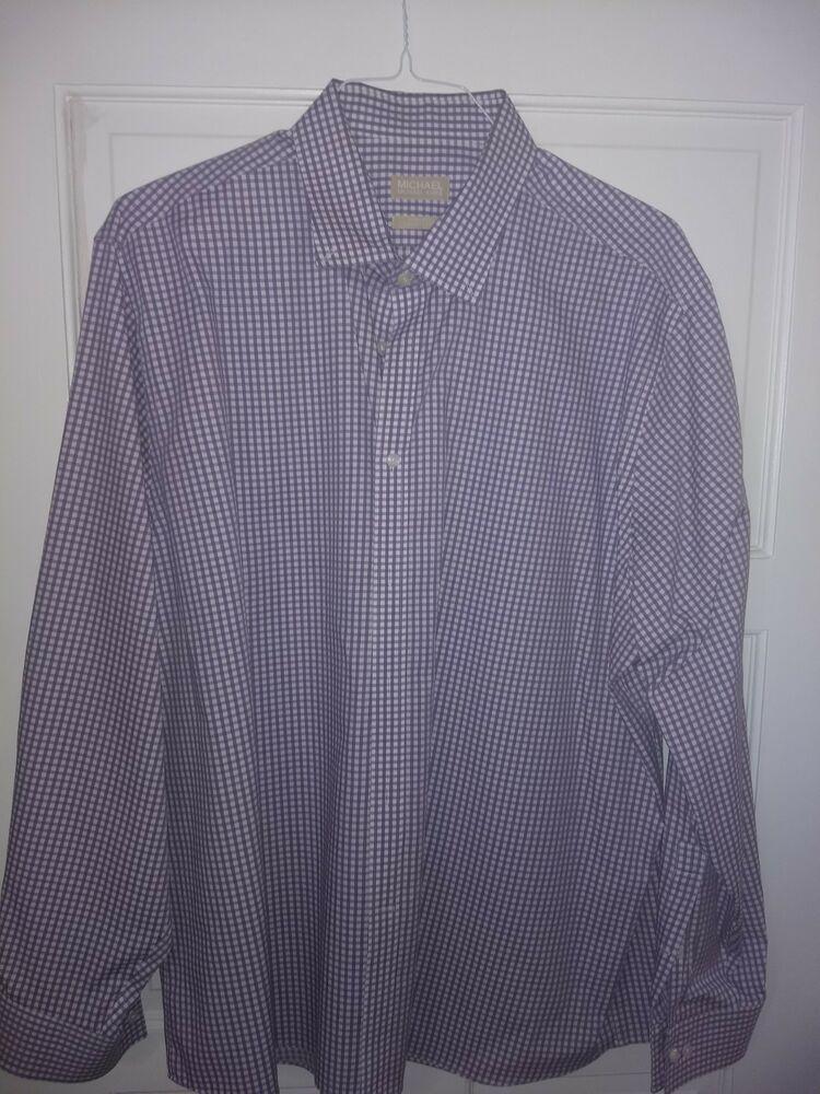 4358c8fcfc5 Michael Kors 181/2 36/37 Mens Dress Shirt #fashion #clothing #shoes  #accessories #mensclothing #shirts (ebay link)