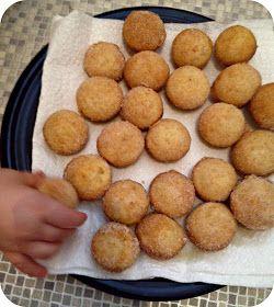 Transatlantic Blonde: Egg Free Mini Donut Muffins