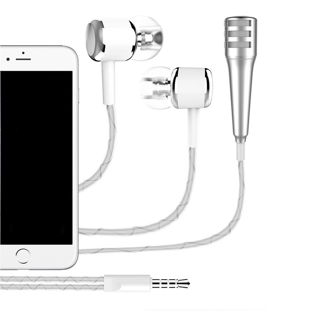 Click To Buy 200pcs Condenser Microphones Earphones With Gaming Studio Recording Microphone Bm700 Mic For Pc Laptop Komputer Earphone Phone Iphone 6 7 Plus 5 Andio Singing Music