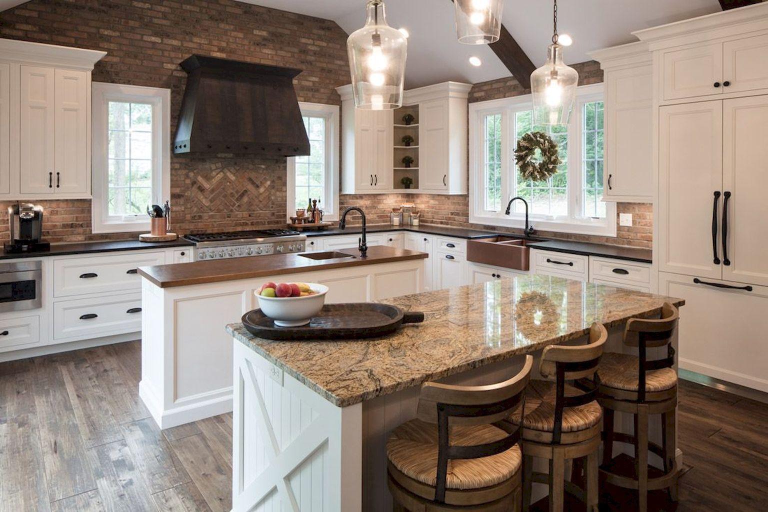Best Off White kitchen Cabinets Design Ideas (45) | Off ...