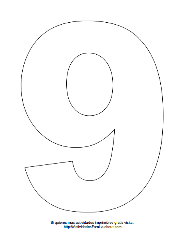 Números Para Imprimir Y Colorear Please Attern 2 Numero