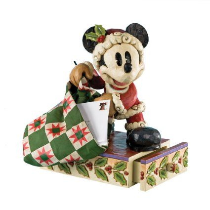 micky maus weihnachtsmann walt disney mickey mouse deko. Black Bedroom Furniture Sets. Home Design Ideas