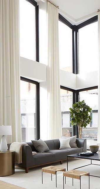 fabulous modern living room decor | New York vibes. Fabulous contemporary living room with ...