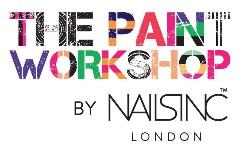 Nails Inc Paint Workshop Logo