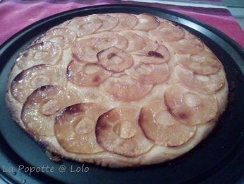 Tarte fine aux pommes (thermomix)