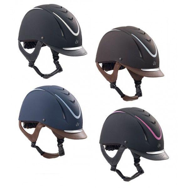 Ovation Glitz Helmet Riding Helmets Helmet Leather