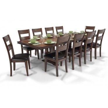 Enormous Dining 11 Piece Set Dining Room Sets Bobs Furniture Living Room Furniture