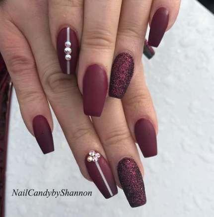 nails fall winter november 30 ideas nails  plum nails
