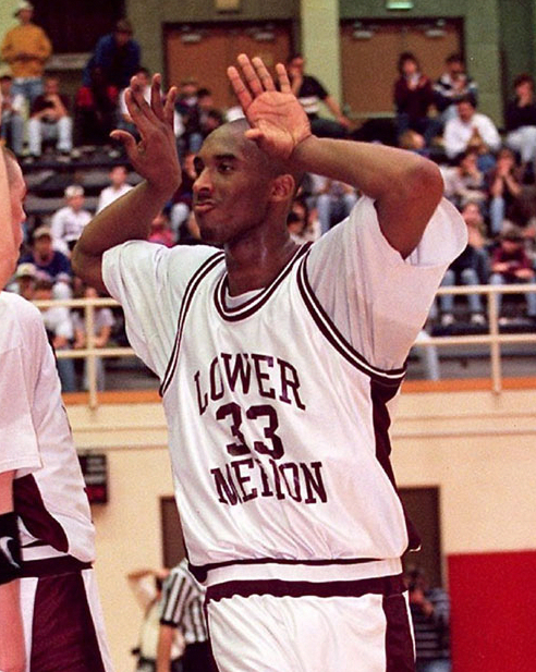 31224ef61 kobe! lower merion high school.  33  highschoolbasketball ...