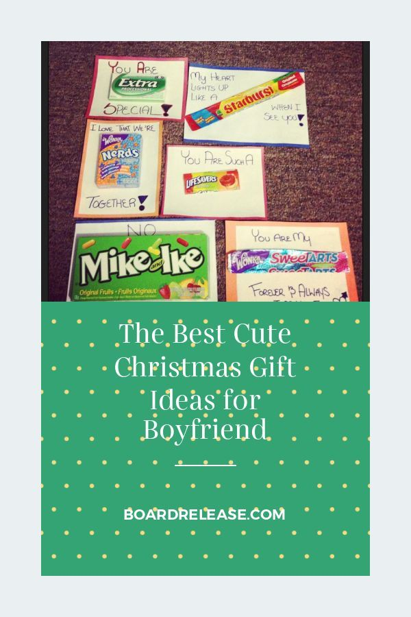 The Best Cute Christmas Gift Ideas for Boyfriend #christmasgiftsforboyfriend
