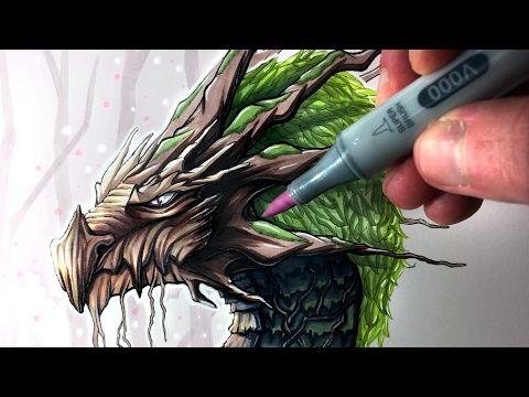 Let's Draw an EARTH DRAGON - FANTASY ART FRIDAY - YouTube | Cool dragon  drawings, Dragon drawings in pencil, Dragon drawing