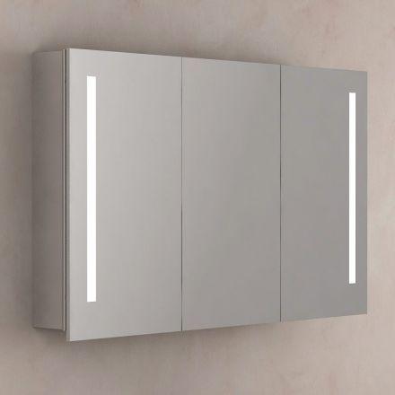 Armoire De Toilette Eclairante Glass 100 Cm Armoire De Toilette Armoire Salle De Bain