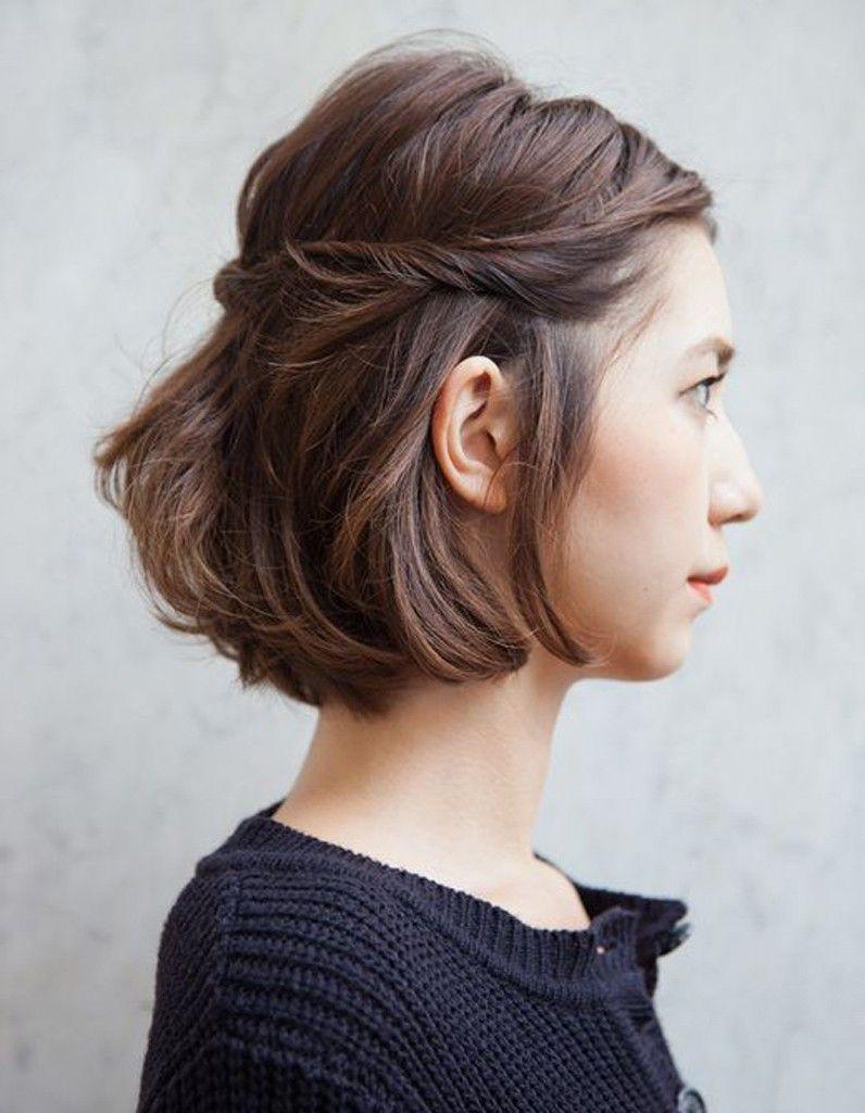 La torsade elegante  Coiffure et beauté  Pinterest  Hair style